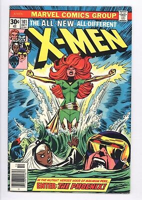 X-Men #101 Vol 1 Near Perfect High Grade 1st Appearance of Phoenix