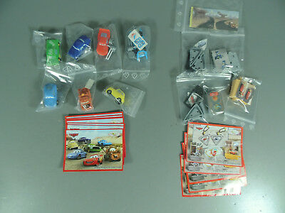 Hpf : Disney´S Cars Eu 2006 - Complete Package + Series Toy + all Bpz