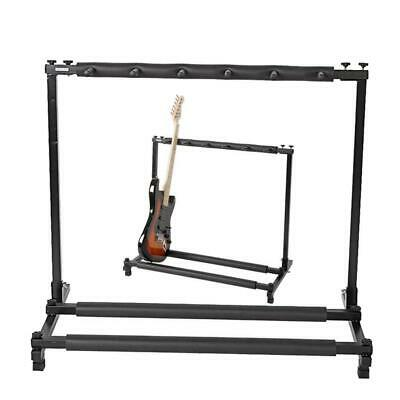 Dad day gift Multi Guitar Stand 5 Holder Stage Bass Acoustic Electric