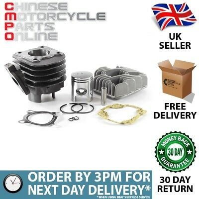 50cc Scooter Cylinder Kit Complete 1PE40QMB (CYLKT001H)