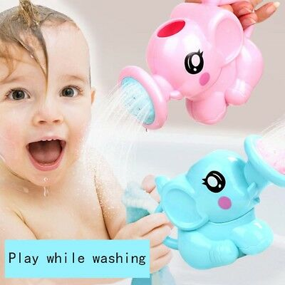 Bathroom Swimming Bathing Toys Cute Elephant Watering Pot Children Kids Baby
