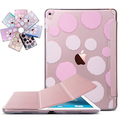 """Ultra Slim Magnetic Leather Smart Case Cover Stand For iPad Pro 9.7"""" Rose Gold"""