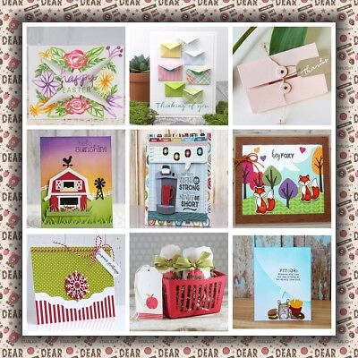 Cutting Dies Stencil Frame Box DIY Scrapbooking Embossing Album Paper Card Craft
