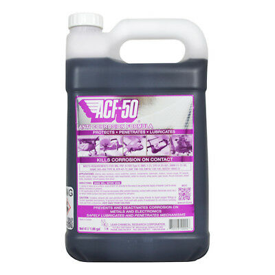 ACF-50 Anti Corrosion 4 Ltr Motorcycle Motorbike Scooter ACF50 Kills Corrosion