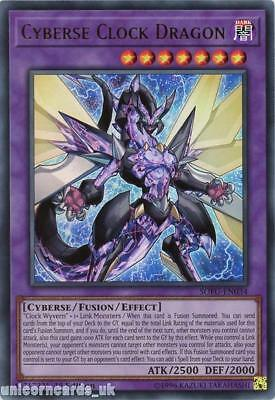 SOFU-EN034 Cyberse Clock Dragon Ultra Rare 1st Edition Mint YuGiOh Card
