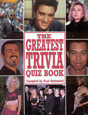 """AS NEW"" Greatest Ever Trivia Quiz Book, , Book"