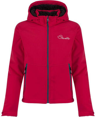 Dare2B Outpour Junior Softshell Jacket - Pink