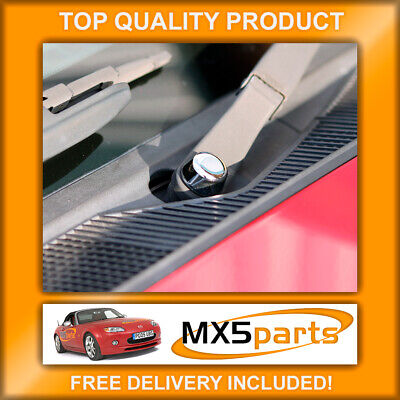 Mazda MX5 Chrome Windscreen Wiper Arm Cap Covers MX-5 Mk3 3.5 3.75 2005>2015
