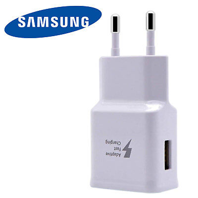 GENUINE Samsung Galaxy S7/S7 Edge/S6 Fast Quick Adaptive Charger Mains - NEW!