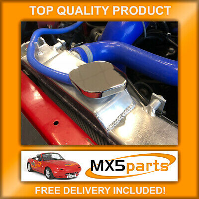 Mazda MX5 Mk1 Chrome Radiator Rad Expansion Cap Cover MX-5 NA 1989>1998