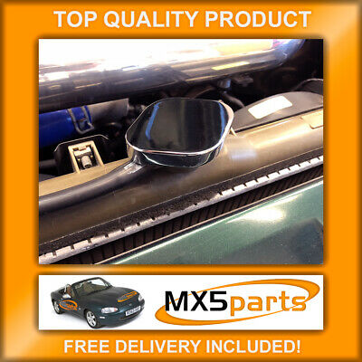 Mazda MX5 Mk2 2.5 1998>2005 Chrome Radiator Rad Expansion Cap Cover MX-5 NB NBFL