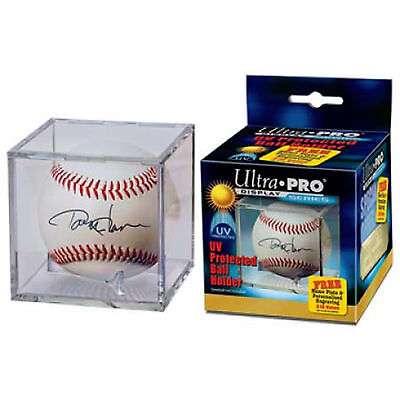 2 Case Lot 72 Ultra Pro Square Baseball Storage Holders Cube Display UV SAFE