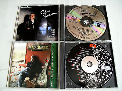 CHRIS NORMAN - 2 CD`s: Some Hearts Are Diamonds,  Interchange