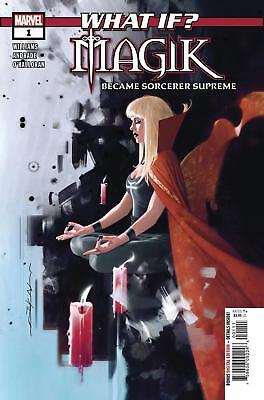 What if Magik #1 Marvel Comic 1st Print 2018 unread NM