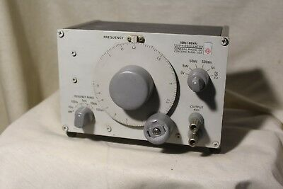 General Radio 1309-A Oscillator Audio Generator 10Hz - 100kHz
