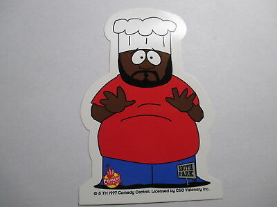 3 South Park Decals of Mr. Hankey, Jeromy the Chef, and Stan