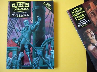 Acclaim Classics Illustrated - Moby Dick by Herman Melville - As new!