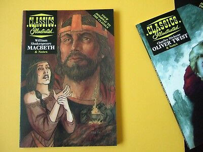 Acclaim Classics Illustrated - Macbeth by William Shakespeare - As new!