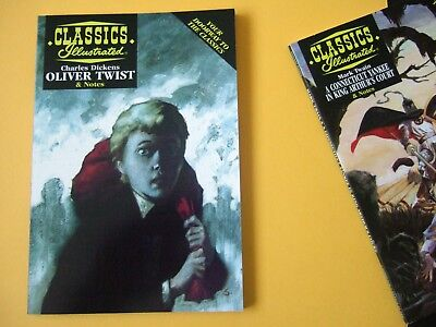 Acclaim Classics Illustrated - Oliver Twist by Charles Dickens - As new!