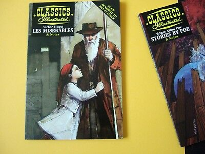 Acclaim Classics Illustrated - Les Miserables by Victor Hugo - As new!