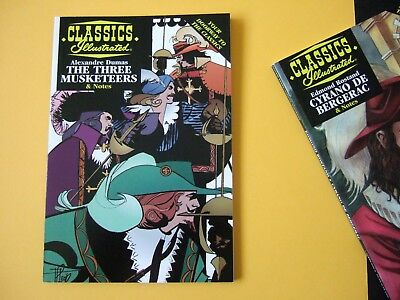 Acclaim Classics Illustrated - The Three Musketeers by A. Dumas - As new!