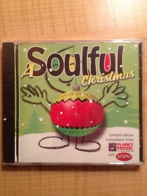 A Soulful Christmas CD Borders exclusive Ray Charles, Otis Redding, Drifters NEW