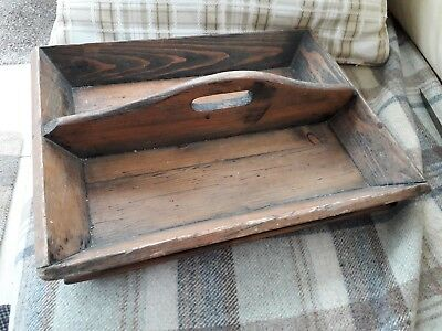 Antique butler cutlery tray from E J Arnold of Leeds