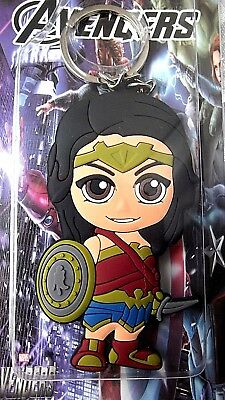 Avengers Wonder Woman Double Sided Large Key Ring Gift Bag Birthday Party
