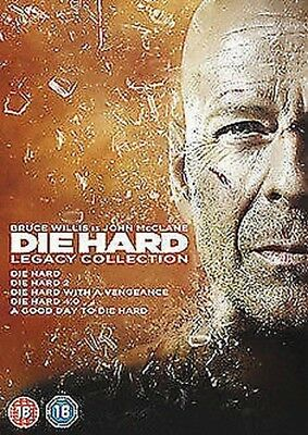 Die Hard - Legacy Collection (5 Films) DVD NEW dvd (5643401000)