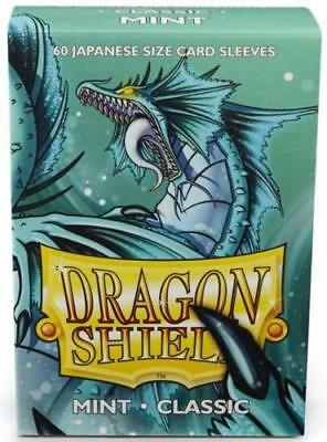 YUGIOH Dragon Shield Mini 60 JAPANESE  Sleeves Classic - Mint  - Small Size