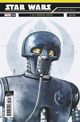 Star Wars #56 Reis Galactic Icon Variant Medical Droid 2-1B #32/36