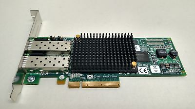 Lot of 2 HP AJ763-63002 LPE12002 PCI Express x8 8 Gbps Dual Fibre Channel Host