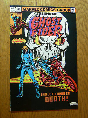 Ghost Rider #81 VF/NM last issue LOOK