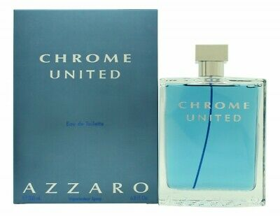 Azzaro Chrome United Eau De Toilette Edt 200Ml Spray - Men's For Him. New