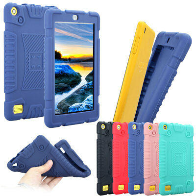 For Amazon Kindle Fire 7 HD 8 7th Gen 2017 Cute Rubber Shockproof Case For Kids