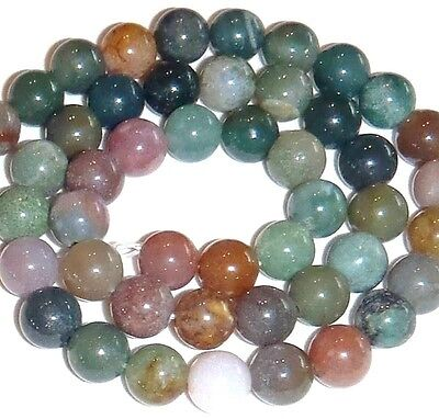 """GR239 Mixed Color 8mm Round Natural Fancy Jasper Gemstone Beads 16"""""""