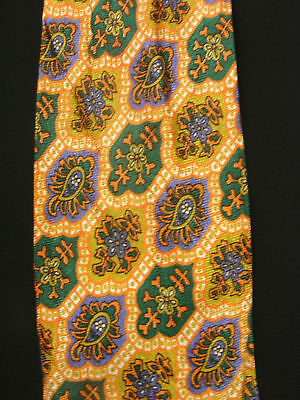 Vintage 1960's-1970's Rayon His Majesty Tie With Images