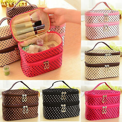 Travel Multifunction Cosmetic Bag Organizer Pouch Toiletry Wash Case Makeup Bags