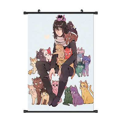 Anime My Boku no Hero Academia Beauty Poster Scroll Cosplay Art cloth Style