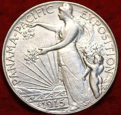 1915-S San Francisco Mint Panama-Pacific Expo Comm Half Dollar