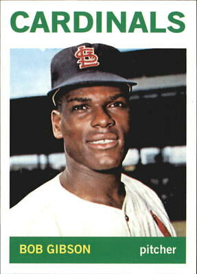 2011 (CARDINALS) Topps 60 Years of Topps #13 Bob Gibson