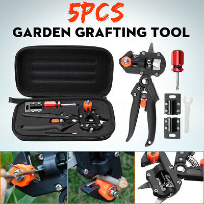 Garden Grafting Tool Set Fruit Tree Pro Pruning Shears Scissor Cutting Tools KIT