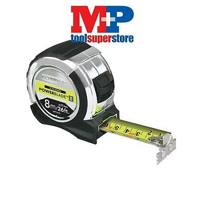 Komelon MPT826E PowerBlade™ II Pocket Tape 8m/26ft (Width 27mm)