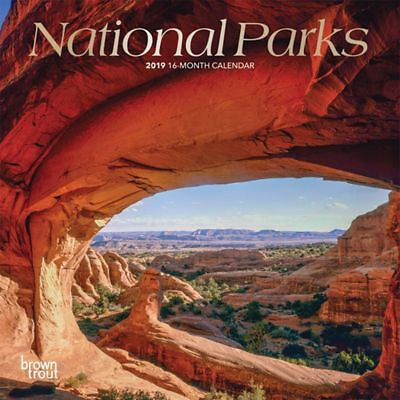 2019 National Parks Mini Wall Calendar,  by BrownTrout