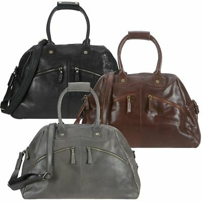 Billy The Kid Reisetasche Leder Nasty Cowboys Weekender Dufflebag Frisco