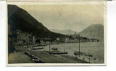Montenegro Prcanj 2 Real Photo Postcards 1928