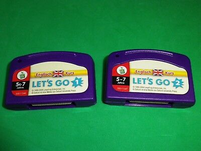 Leap Frog, Leap Pad, Leappad Spiel: LET´S GO 1 und 2, Englisch lernen