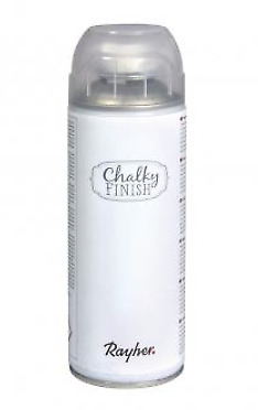 Rayher Chalky Finish Farbspray weiß 400ml