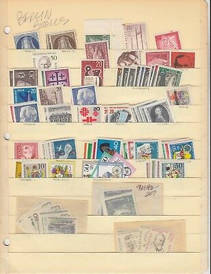 Germany Berlin Bells & More Packed Stock Page Stock Collection Lot $$$$$$$