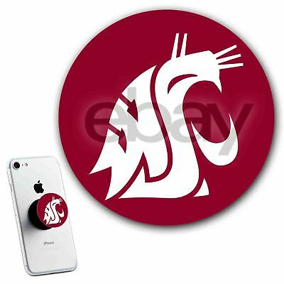 386cad77e Pop Out Stand Up Grip Holder for Phone Washington State Cougars Football